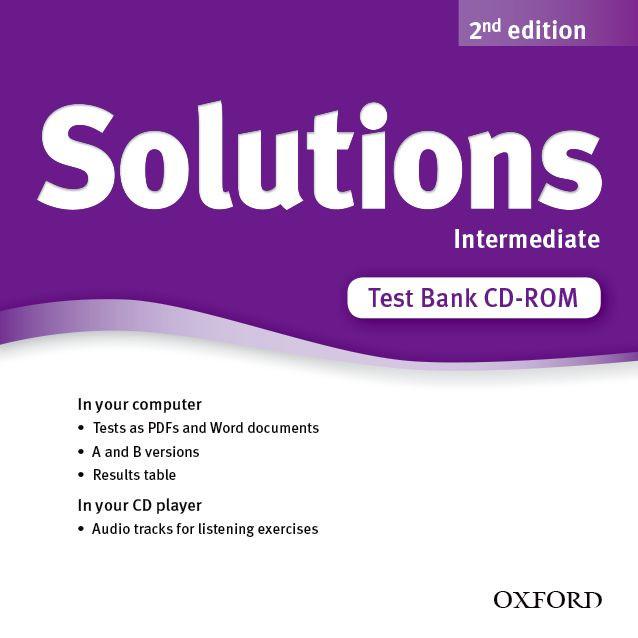 Тестове английски ез  Solutions 2E Intermediate Test CD - ROM