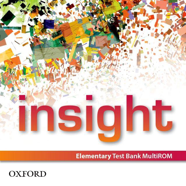 Тестове английски ез  Insight Elementary Test Bank MU - ROM